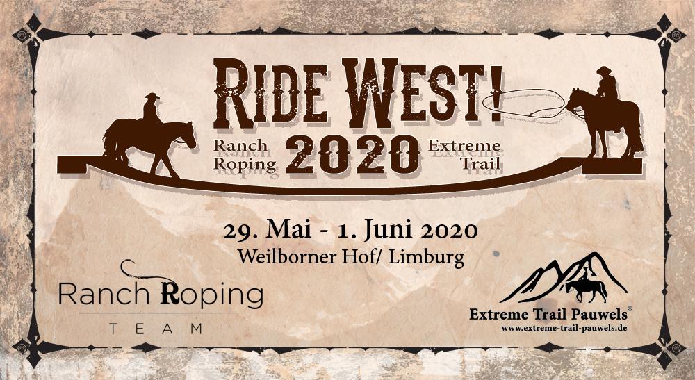 RIDE WEST! 29.05. - 1.06 2019 - Weilborner Hof/Limburg